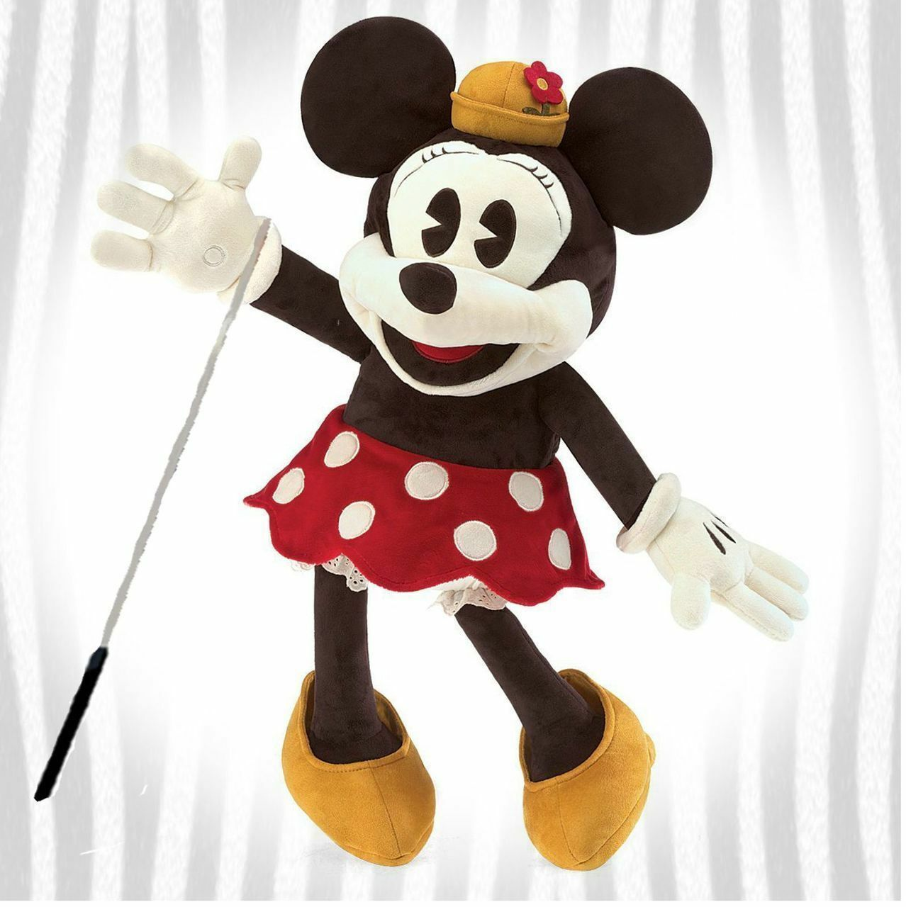 Folkmanis Minnie Mouse Full Bodied Puppet Bundle W  Arm Rod
