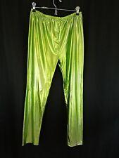 Women's Shiny Lycra leggings Lg/XL jeggings, festival pants