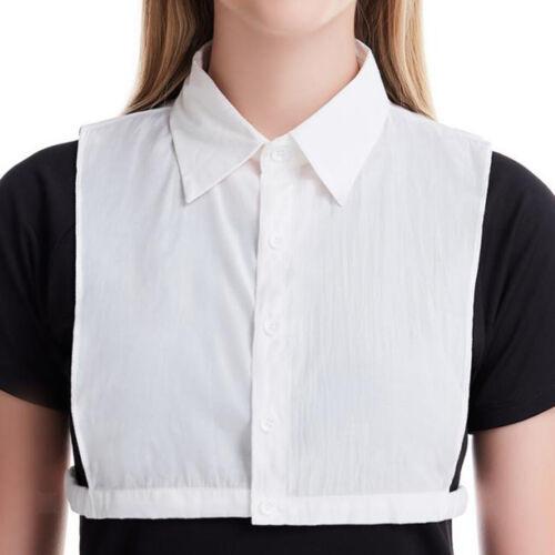 Women Detachable False Collar Faux Half Shirt Blouse Dickey Collar Necklace