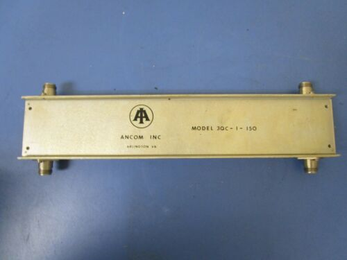 pulled from sinclair radio equipment ANCOM INC Model 3QC-1-150