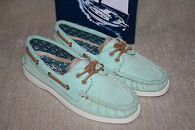 WOMENS SPERRY LAURA BROWN CROCODILE FLATS US SIZE 5 i16 a NEW