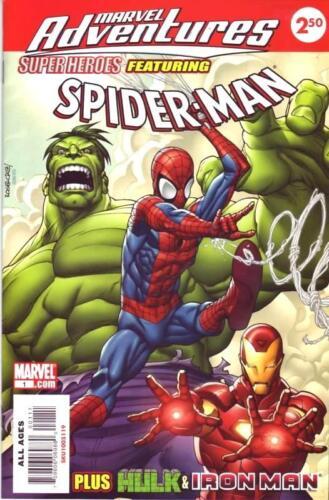 MARVEL ADVENTURES SUPERHEROES 1 SPIDERMAN HULK RARE GIVEAWAY PROMO $2.50 VARIANT