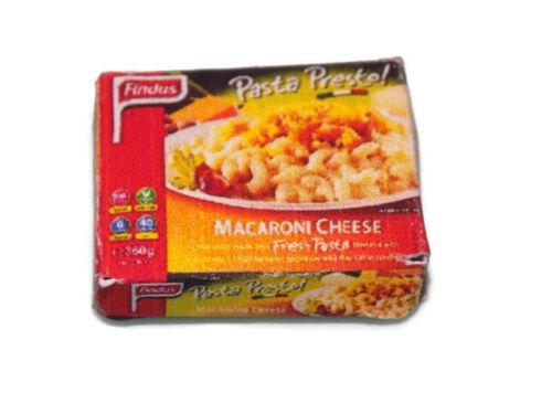 Casa de muñecas en miniatura macarrones queso comida-escala 1:12 Accesorios
