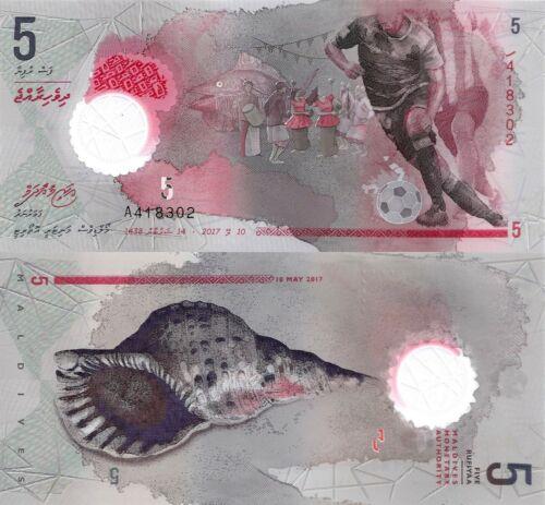 2016.2.28 Band//Sea Shell//Polymer//pA26 UNC Maldives 5 Rufiyaa