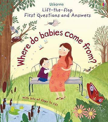 1 of 1 - Lift-The-Flap First Questions & Answers Where Do Babies Come from? (Lift-the-Fla