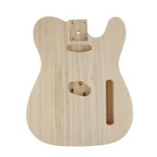 E-Ahorn-Korpus aus poliertem Holz Unfertiger E-Gitarren-Korpus L8C4