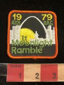 Vtg-1979-MOONLIGHT-RAMBLE-ST-LOUIS-ARCH-AYH-BAC-Missouri-Patch-99C6