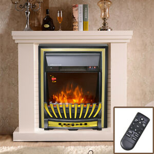 2kw Remote Control Modern Electric Fireplace Led Fire Place Heater
