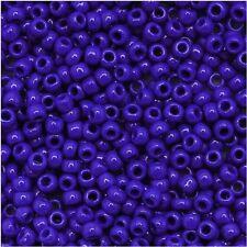 11/0 Opaque Navy BlueTOHO Round Glass Seed Beads 15 grams #48
