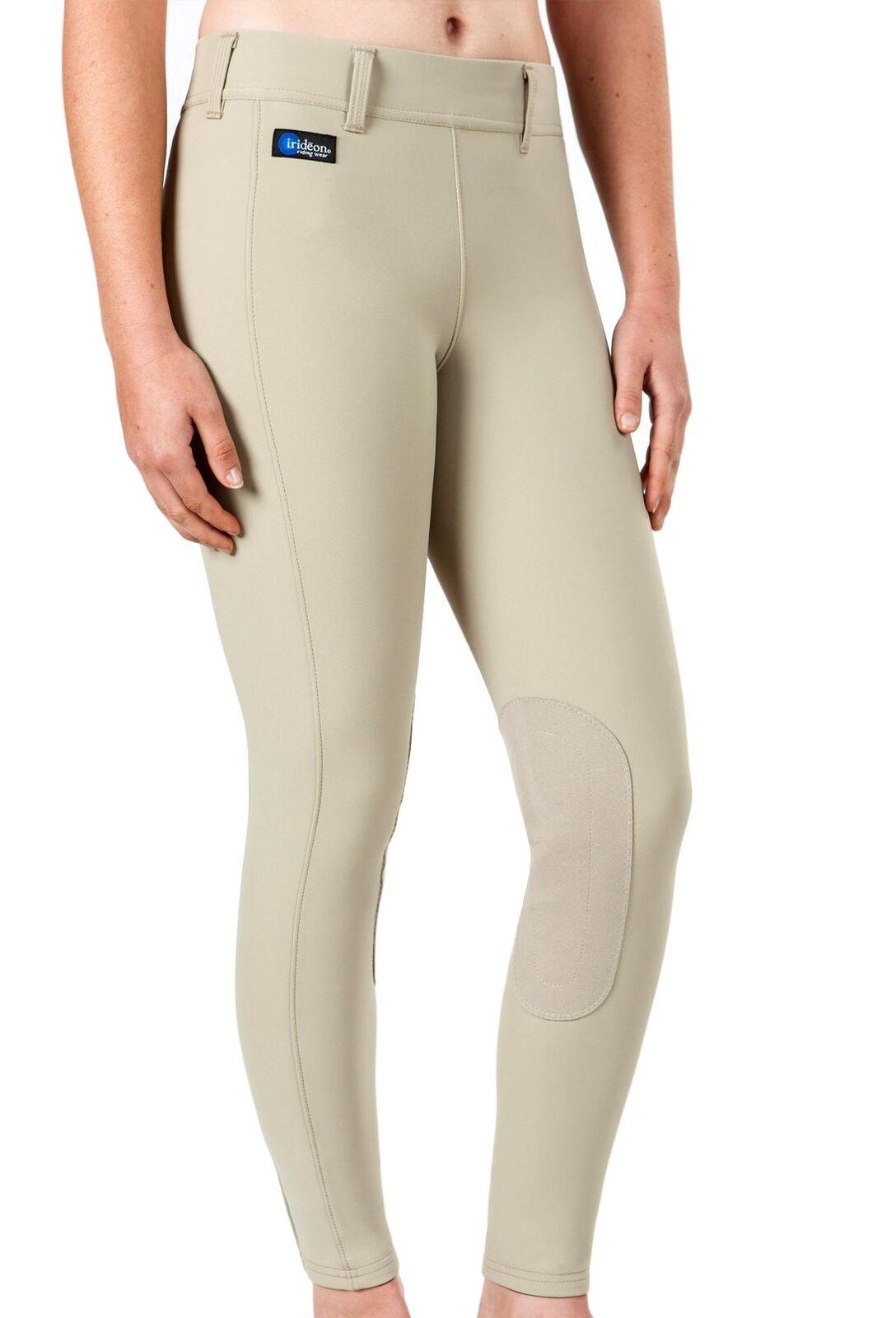 Irideon Women's Cadence Elite Knee Patch Riding Breeches Stretch-Woven