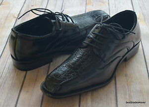 NICE-ITALIAN-STYLE-MENS-DRESS-CASUAL-SHOES-COLOR-BLACK-FINISH-EXCELLENT-QUALITY