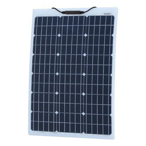 60 W Renforcé semi-Panneau solaire flexible avec ETFE Revêtement allemand cellules solaires