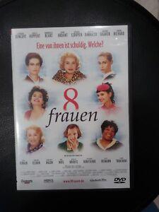 8-Frauen-8-femmes-DVD-Deutsch-Francais-Komoedie-Musical-Krimi
