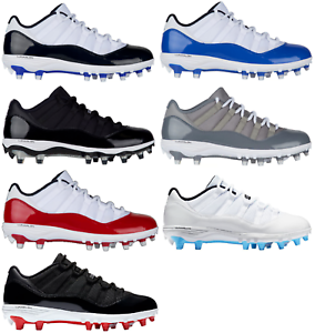 8b1c8c6030fa4 Image is loading Jordan-Retro-11-Low-TD-Cleats-Men-039-