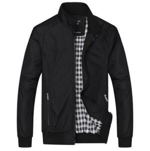 Fashion-Men-039-s-Jacket-Slim-Collar-Fit-Cotton-Coat-Fashion-Casual-Outwear-Jacket