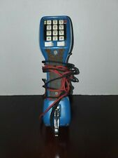 Harris Dracon Ts21 Set Lineman Phone Handset Blue