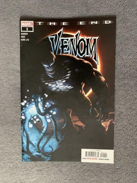Venom The End #1 Black Blank Sketch Variant NM