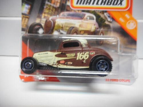 FORD COUPE 1933 1935 MATCHBOX 1:64