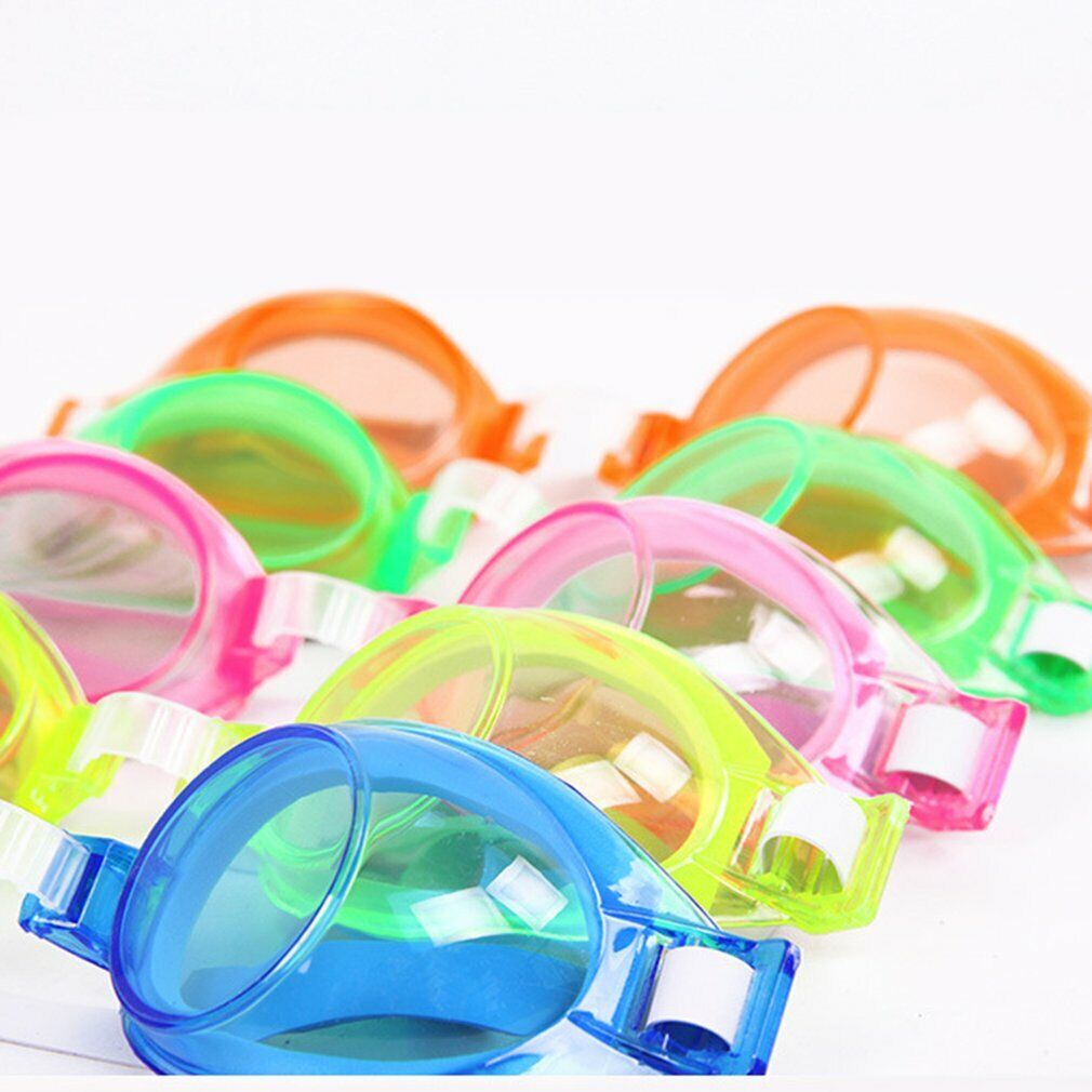 JUNIOR KID CHILDREN EASY ADJUSTABLE SWIM SWIMMING POOL WATER GOGGLES GOOGLES