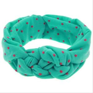 Cross-Knot-Baby-Kids-Girls-Toddler-Wave-Point-Headband-Elastic-Hair-Band-Cotton