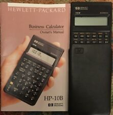owner s manual for hp 10b business calculator hewlett packard ebay rh ebay com HP Pavilion HPE Manual hp 10b 2 user manual