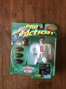 Steve Young 1999 Hasbro Starting Lineup NFL Action Figure With Passing Action