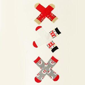 image is loading kids girls amp boys christmas novelty socks 1