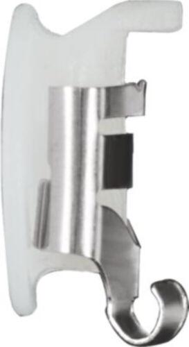 2-Acier inoxydable Loxt Mega Grip verrouillage Boucle d/'Oreille Arrière