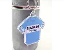 Fausto Coppi Bianchi 1951 Cotton Cycling Jersey Keyring Giro d'Italia Rapha