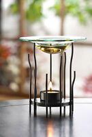 Modern Twig Stick Glass Metal Wax Tart Warmer Oil Diffuser Candle Holder Burner