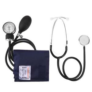 Manual-Arm-Sphygmomanometer-Blood-Pressure-Gauge-with-Stethoscope-Health-Monitor