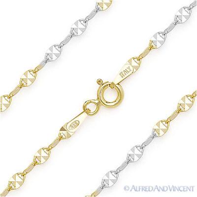 .925 Italy Sterling Silver Mariner Marina Valentino Link Italian Chain Necklace