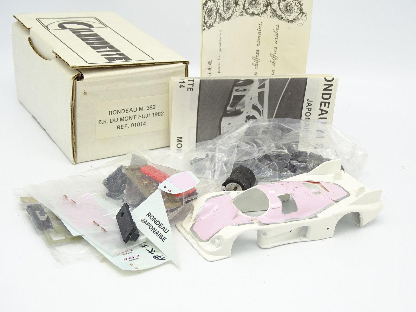 Silhouette Kit à Monter 1 43 - Rondeau M382 6H Mont Fuji 1982