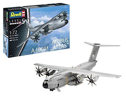 Revell 1 72 Airbus A400M Atlas Model Kit - 03929