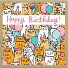 Birthday Cats Green GiftNotes by Gemma Correll 9781601608482 Cards 2012