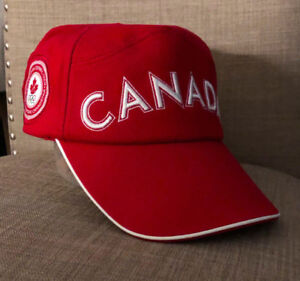 Image is loading Roots-Canada-2004-Athens-Summer-Olympics-Hat-Cotton- 740bf40058e9