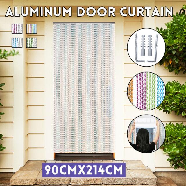 Aluminium Metal Chain Fly Pest Insect Door Screen Curtain