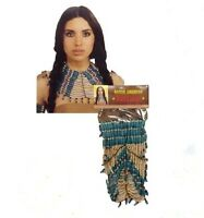Native American Beaded Necklace Southwestern Costume Jewelry Accessory Indian