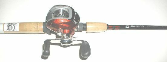 PFLUEGER PFLECH2LPMHCBO ECHELON 6 FT 6 IN ALL STAR  ROD REELCOMBO 10150