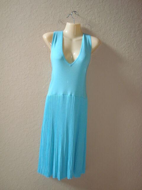 Antonio Melani Size Medium Lorraine St Lucia Coastal Blue Womens