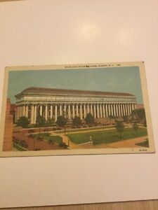 Old Postcard 1943 State Education Building Albany New York