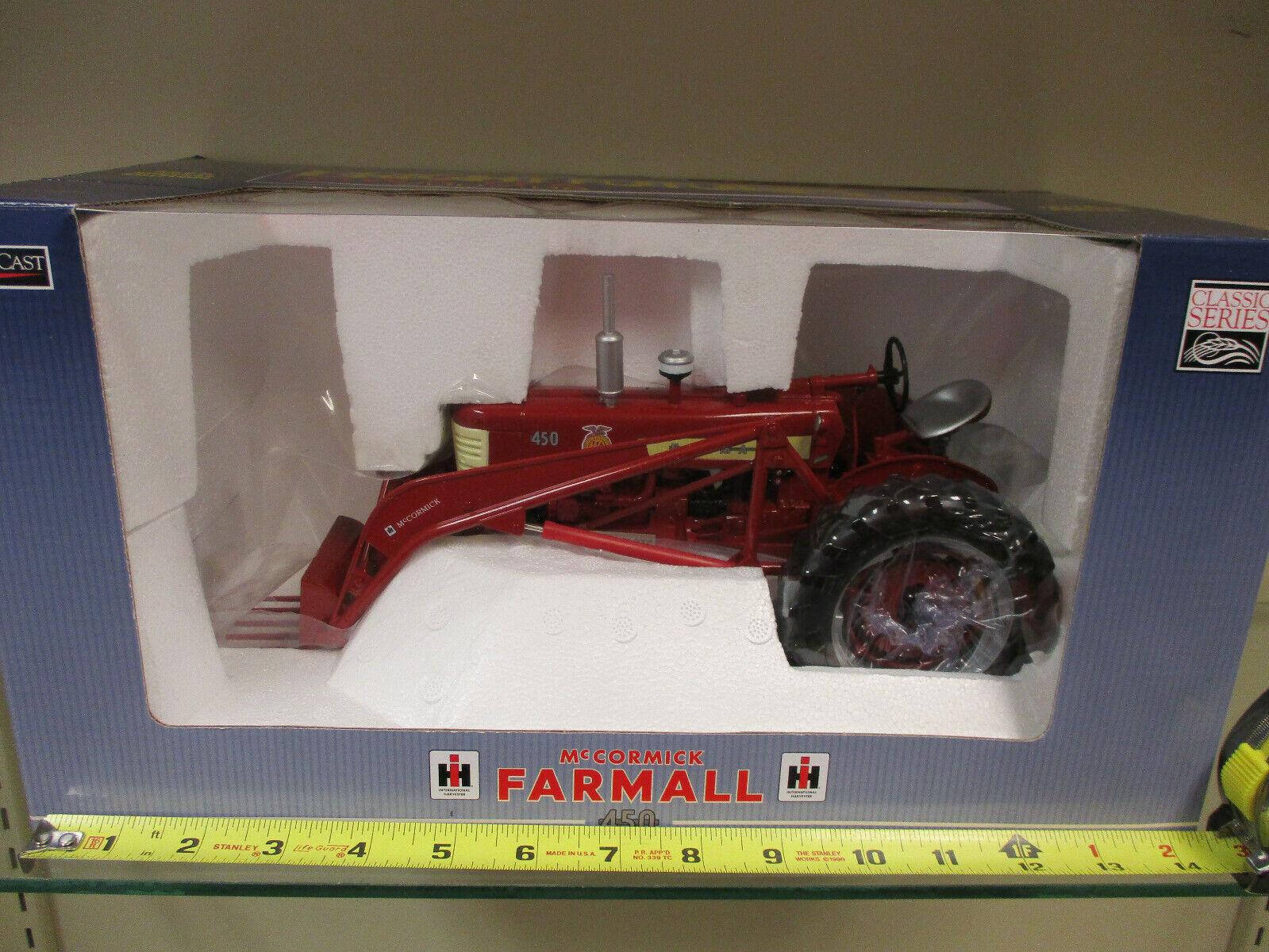 Farmall 450 w  Loader 2008 Iowa FFA Special Edition by SpecCast 1 16th Scale