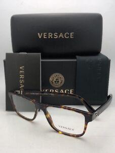 85f05c4d49 New VERSACE Rx-able Eyeglasses VE 3211 108 53-17 145 Tortoise Havana ...