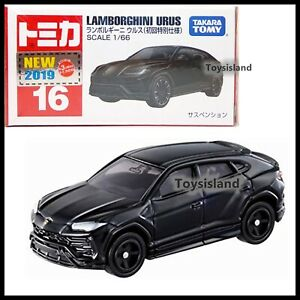 Details About Tomica 16 Lamborghini Urus 1 66 2019 Feb New Model Tomy First Edition Black