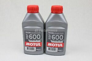 Lot-2-bidons-Motul-RBF-600-liquide-freins-RBF600-DOT4-2x-500ml-RAPIDE