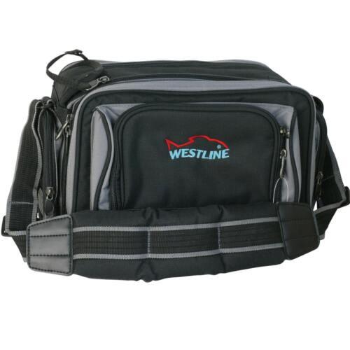 Gerätetasche Anglertasche Tasche inkl Spinnertasche Modell S 2 x Tackle Box