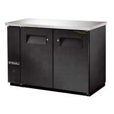 True Tbb 24 28 Back Bar Cooler 2 Door 49w Black