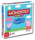 Monopoly Junior Jr Peppa Pig Edition 181641-0