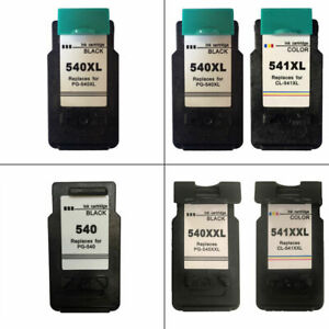 PG540-CL541-XL-XXL-Black-Colour-Ink-Cartridges-For-Canon-PIXMA-MG3650-Printer