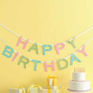 Image Is Loading Happy Birthday Party Garland By Martha Stewart